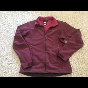Patagonia Adze Soft Shell Jacket Mauve Purple XS